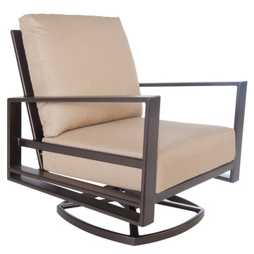 Ow Lee Gios Swivel Rocker Lounge Chair 4535-SR