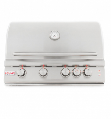 Blaze 4 Burner Built-In 32 Inch Grill With Lights BLZ-4LTE2-LP/NG