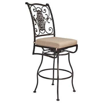 San Cristobal  Swivel Bar Stool With No Arms