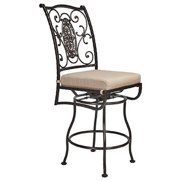San Cristobal  Swivel Counter Stool With No Arms