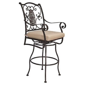 San Cristobal Swivel Bar Stool With Arms