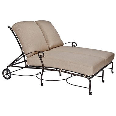 San Cristobal Adjustable Double Chaise
