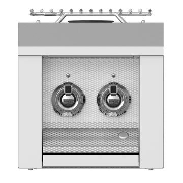 Aspire By Hestan Built-In Double Side Burner With Color Options