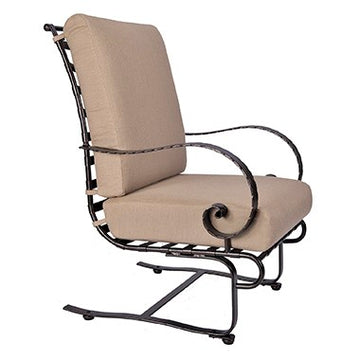 Ow Lee Classico High-Back Spring Base Lounge Chair 937-SBW