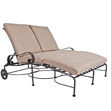 Ow Lee Classico Adjustable Double Chaise 938-DCHW