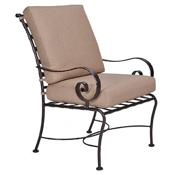 Ow Lee Classico Club Dining Arm Chair  942-AW