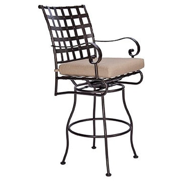 Ow Lee Classico Swivel Bar Stool With Arms 953-SBSW