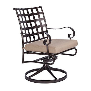 Ow Lee Classico Swivel Rocker Dining Arm Chair 953-SRW