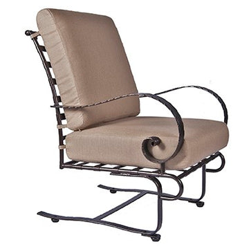Ow Lee Classico Spring Base Lounge Chair 956-SBW
