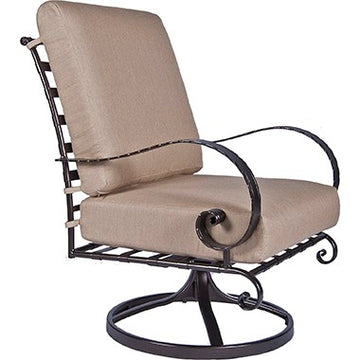 Ow Lee Classico Swivel Rocker Lounge Chair 956-SRW