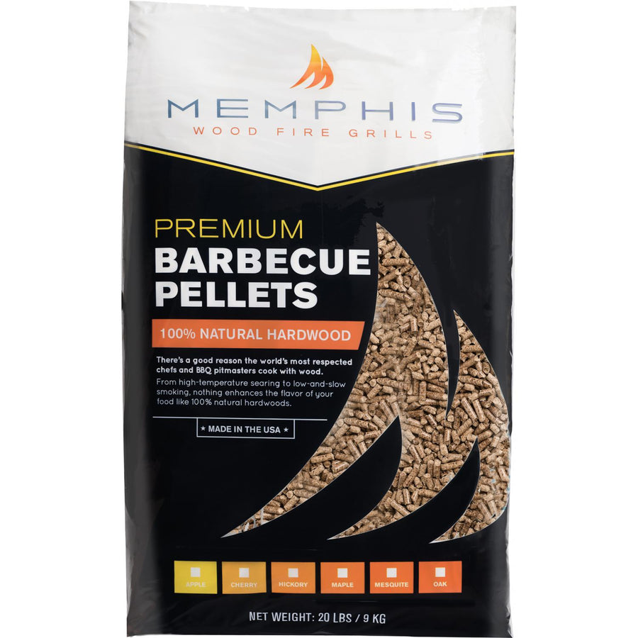 Memphis 100% Natural Hickory Hardwood Pellets