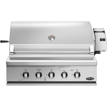 DCS Series 7 Traditional 36-Inch Built-In Gas Grill With Rotisserie - BH1-36R