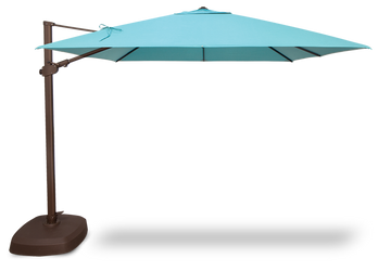 Treasure Garden 10' AG25TSQ Cantilever Umbrella Square Series