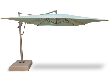 Treasure Garden 10' x 13' AKZ PLUS Cantilever Umbrella Rectangle Series