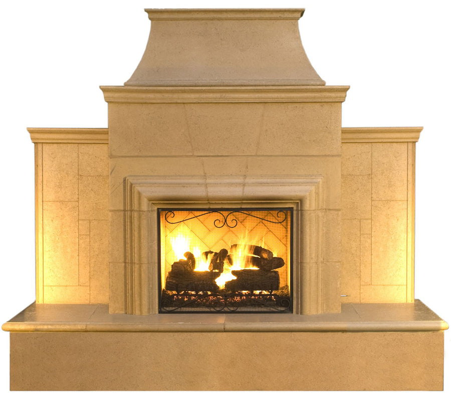 American Fyre Designs Grand Cordova Fireplace