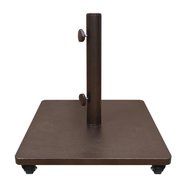 Treasure Garden Steel Base w/Casters 120 lb Umbrella Base