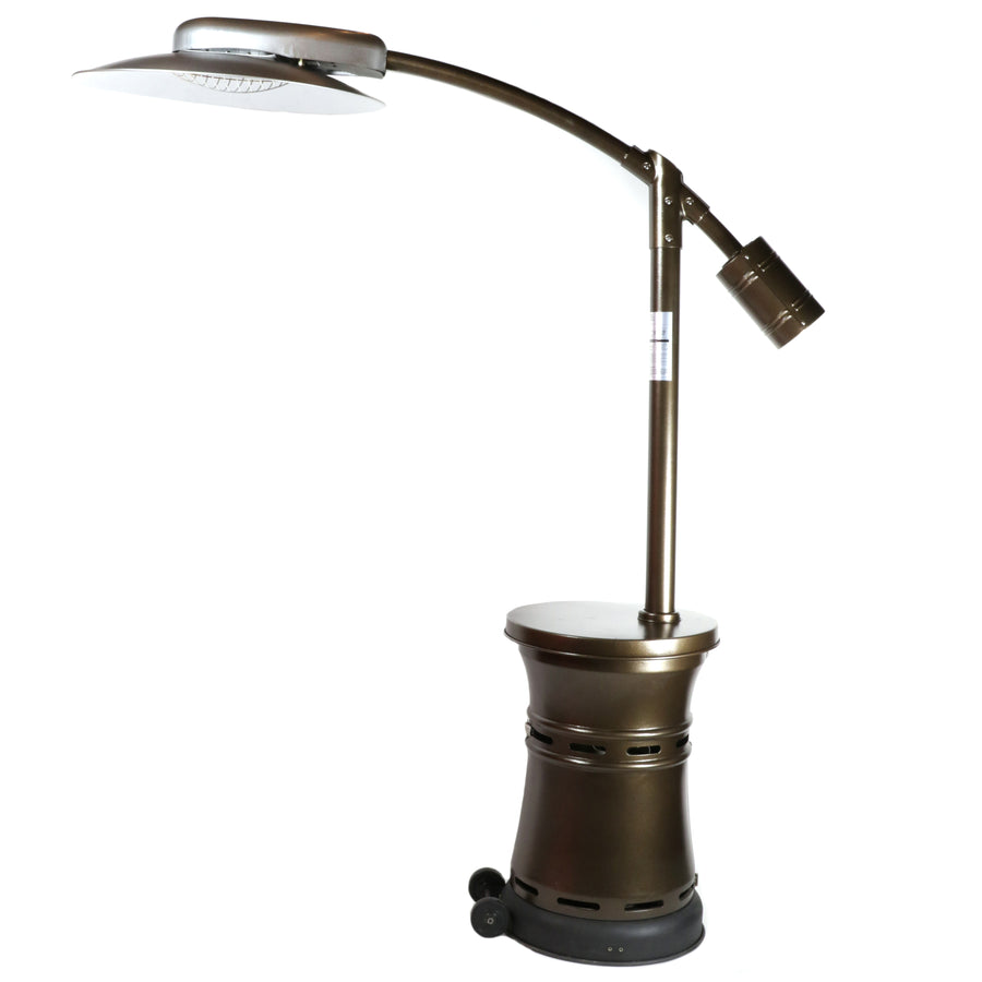 Outdoor Order Curve Propane Portable Patio Heaters With Finish Options