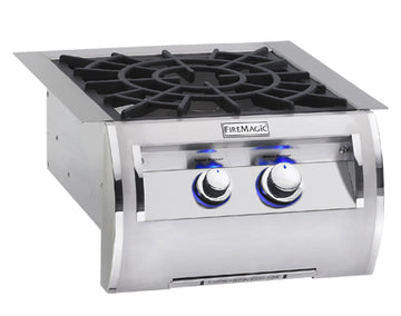 Fire Magic Echelon & Black Diamond Built-In Power Burners