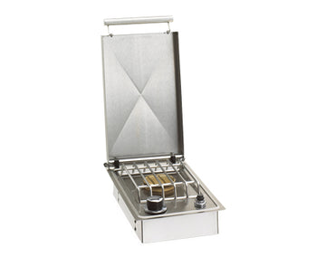 Fire Magic Aurora Drop-In Single Side Burners W/Hinged Lid