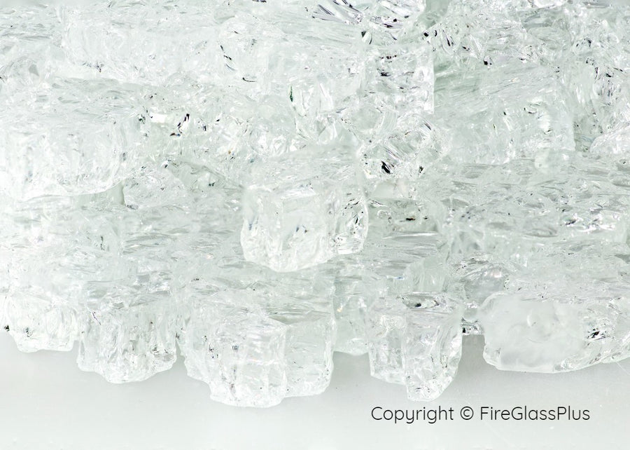 Fire Glass Plus Crystal Ice 1/4