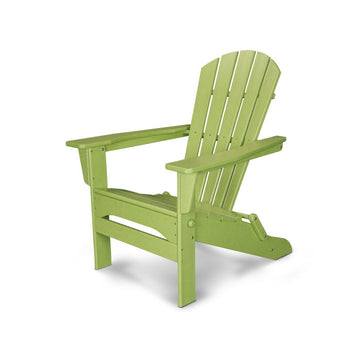 Polywood Palm Coast Folding Adirondack Chair HNA110
