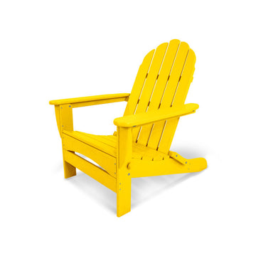 Polywood Classic Oversize Curveback Adirondack Chair AD7030