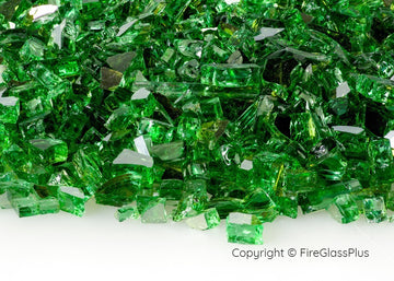 Fire Glass Plus Emerald Reflective 1/4
