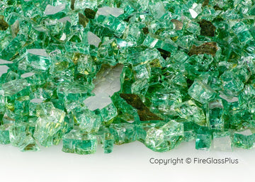 Fire Glass Plus Jade Reflective 1/4