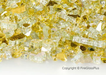 Fire Glass Plus Goldrush Reflective 1/4