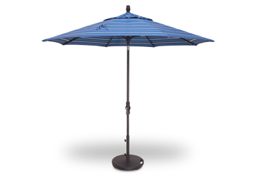 Treasure Garden 9' Collar Tilt Octagon Umbrella