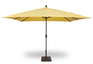 Treasure Garden 8' X 11' Crank Lift Rectangular Umbrella