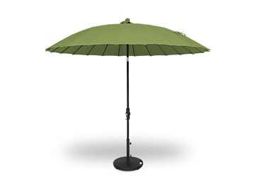 Treasure Garden 10' Shanghai Collar Tilt Umbrella Round