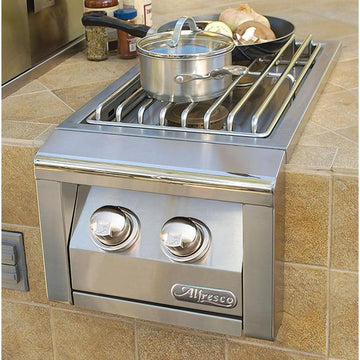 Alfresco Built-In 2 Burner Unit
