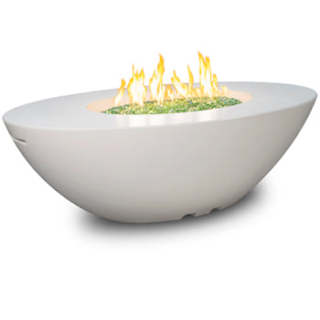 American Fyre Designs Calais Oval Fire Table 60'w x 36