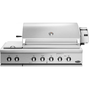 DCS Series 7 Traditional 48-Inch Built-In Gas Grill With Double Side Burner & Rotisserie - BH1-48RS