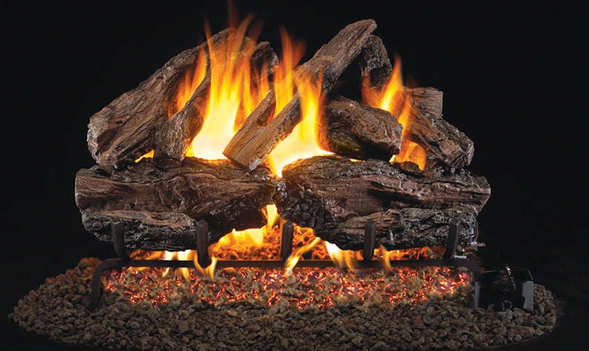 Real Fyre Charred Red Oak 18