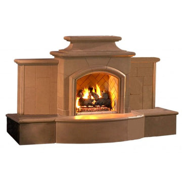 American Fyre Designs Grand Mariposa Fireplace