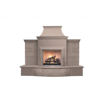 American Fyre Designs Grand Petite Cordova Fireplace