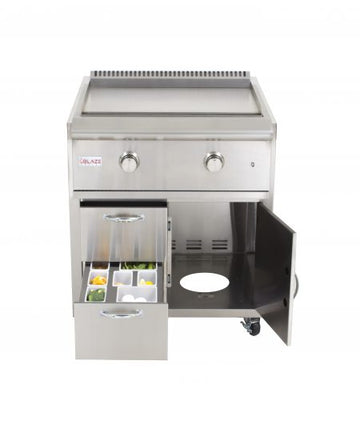 Blaze Grill Cart For Gas Griddle BLZ-GRIDDLE-CART