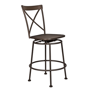 Ow Lee Bistro Villa Armless Swivel Counter Stool 516-SCS