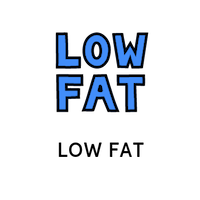 low-fat badge