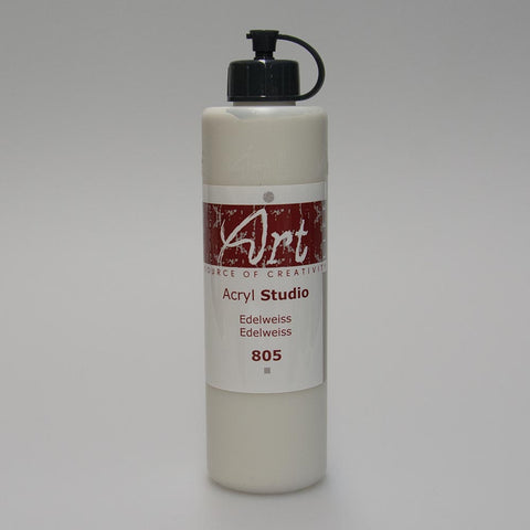 Art Life Acrylfarbe 805 Edelweiss 250ml in Art Life Acryl Farbflasche