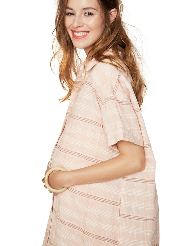 color:blush plaid