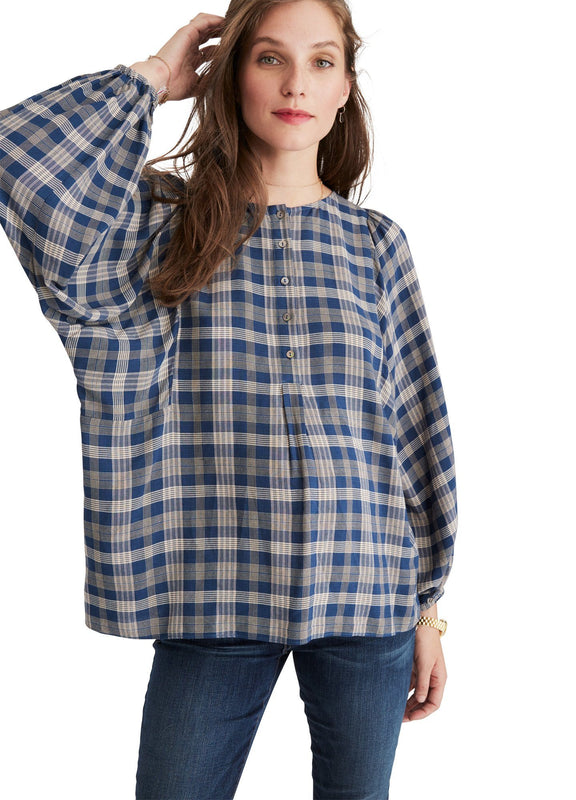 color:blue plaid