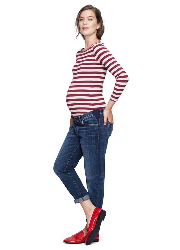 color:vintage burgundy stripe