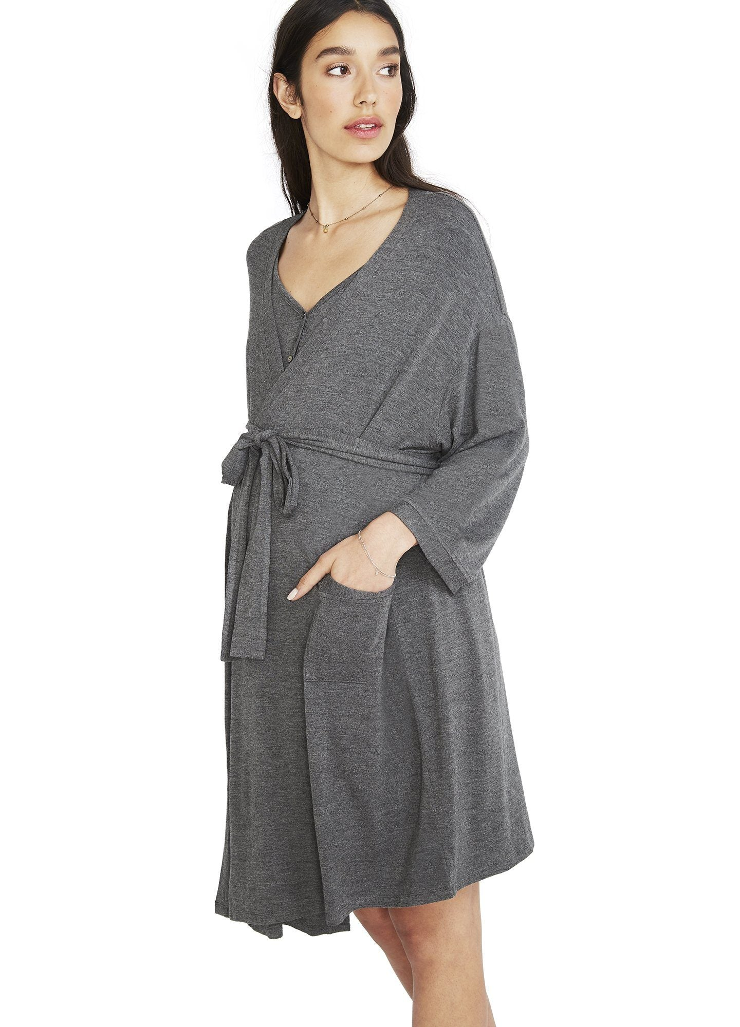 The HATCH-to-Hospital Box | Maternity robe, nightgown | HATCH ...