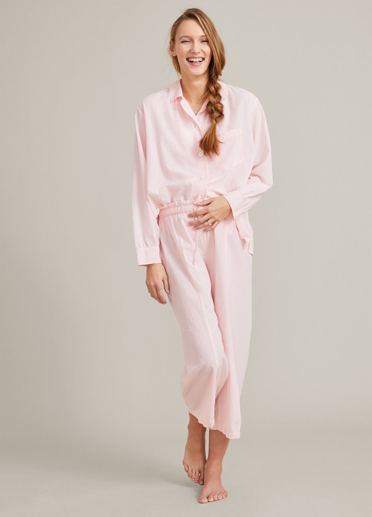 The Cotton Pajama Set Luxe Maternity Sleepwear Hatch Collection Hatch Collection