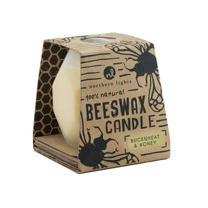 Northern Lights Candles / Bee Hive - Buckwheat & Honey