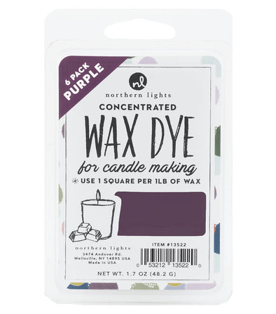 Concentrated Dye Squares 6pk - Purple