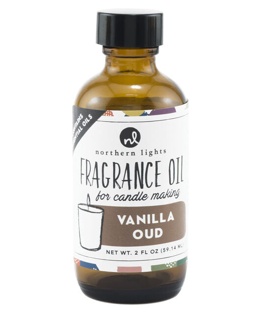 Fragrance Oil 2oz Glass Bottle - Vanilla Oud